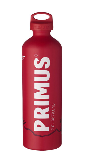Primus Fuel Bottle - Hornillo camping - 1000ml rojo/blanco